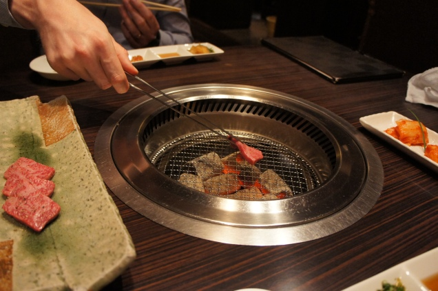 Tsurugyu table and grill