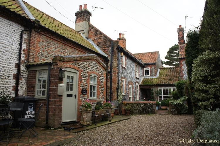 Blakeney flint house