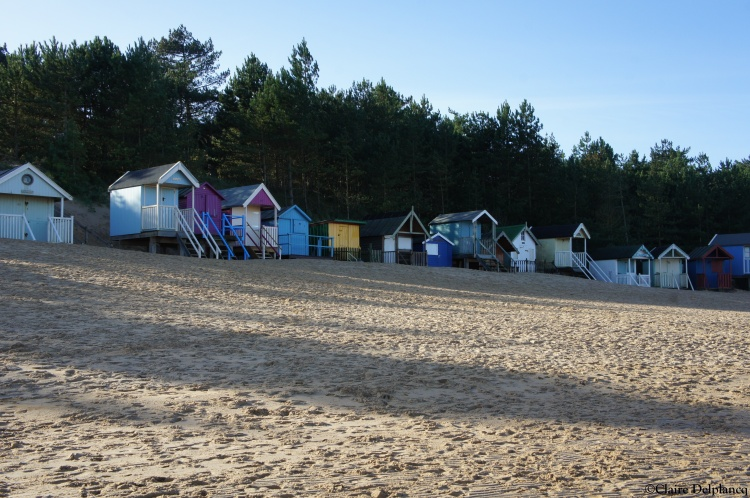 Beach cabins in Wells Next The Sea Norfolk