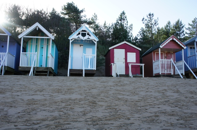 Beach cabins Norfolk