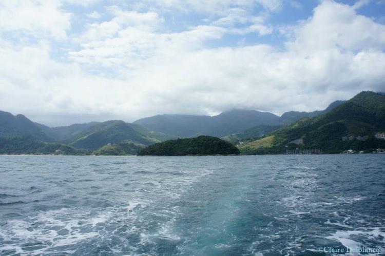 Brazil Ihla Grande boat trip