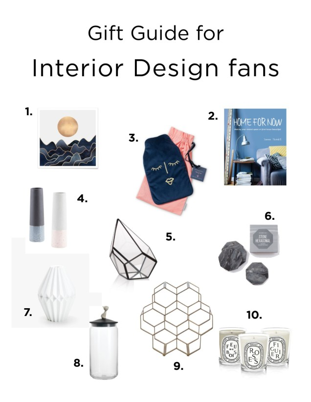 Christmas 2017 Interior gift guide