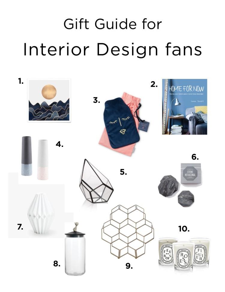 Christmas 2017 Interior gift guide