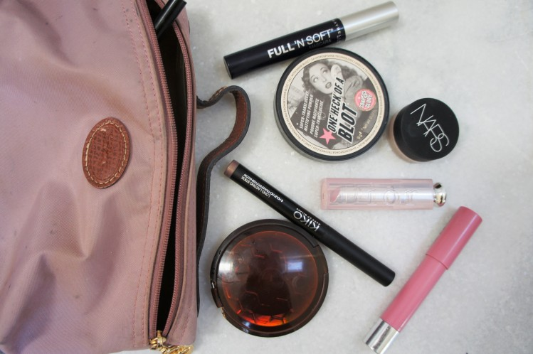 Longchamp French makeup bag