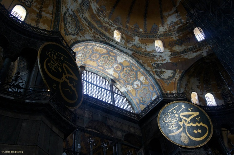 Istanbul Hagia Sophia windows