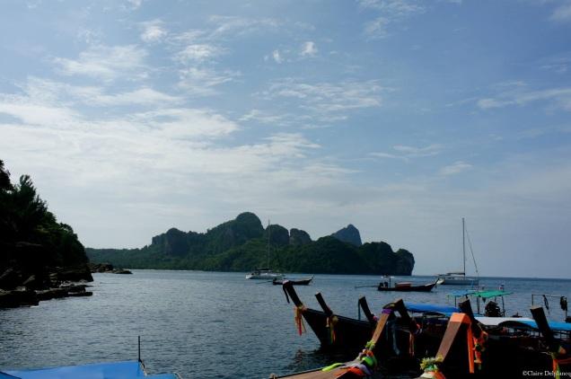 Koh Phi Phi long boats