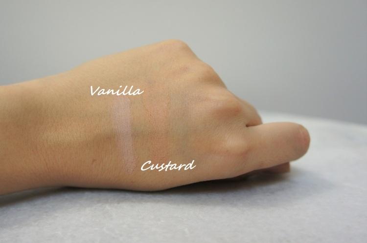 Nars Soft Matte Complete concealer in Vanilla and Custard