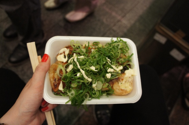 Takoyaki Nishiki Market Kyoto