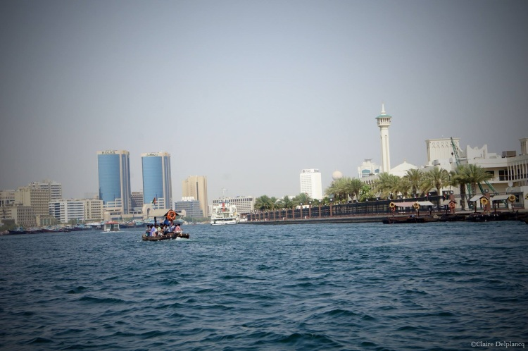Old Dubai river