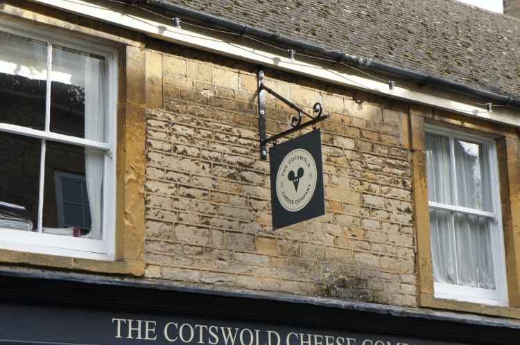Stow-on-the-Wold Costwolds cheese shop