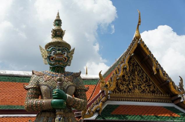 Wat Pho statue guard Bangkok