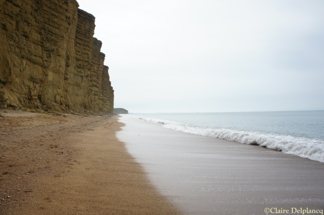 Cliffs in West Bay, Dorset