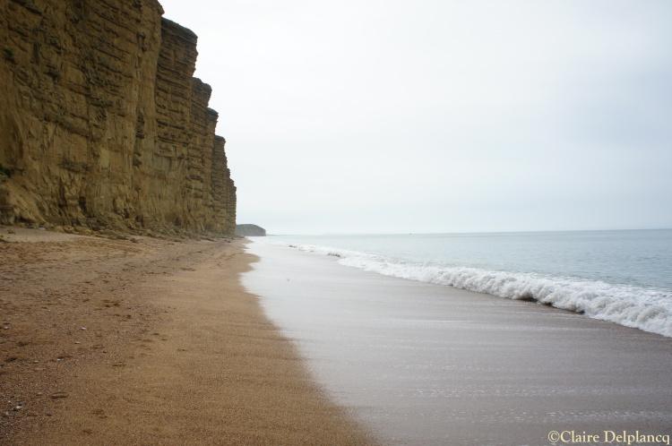 Cliffs in West Bay, Dorset