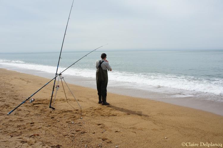 Fishing in West Bay