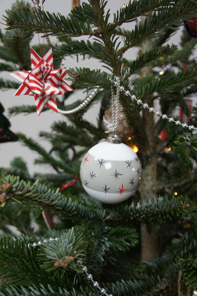 M&S Christmas baubles
