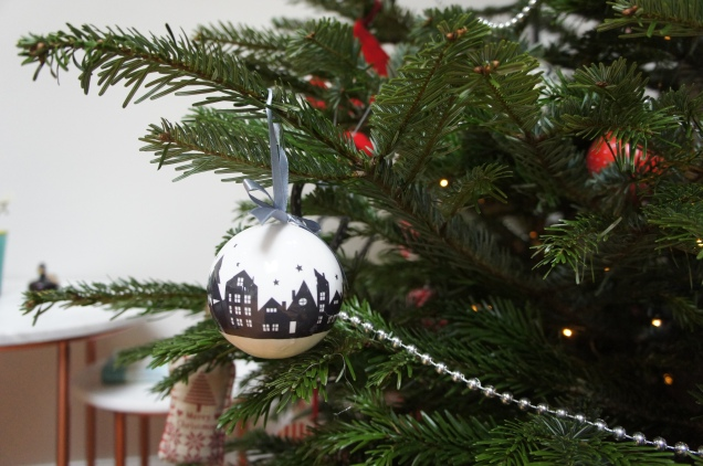 B&Q Christmas bauble