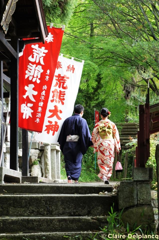 Couple in Fushimi InariTaisha Kyoto