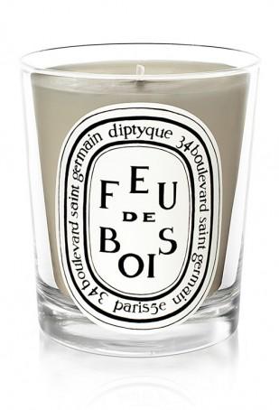 Diptyque candle Feu de bois