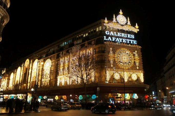 Galleries Lafayette Paris Christmas