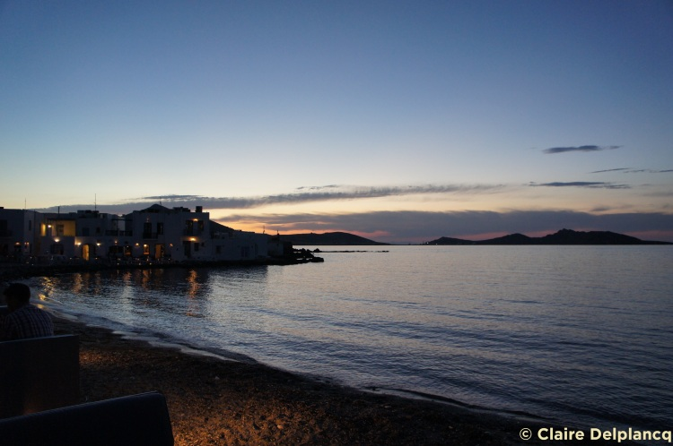Sunset in Paros