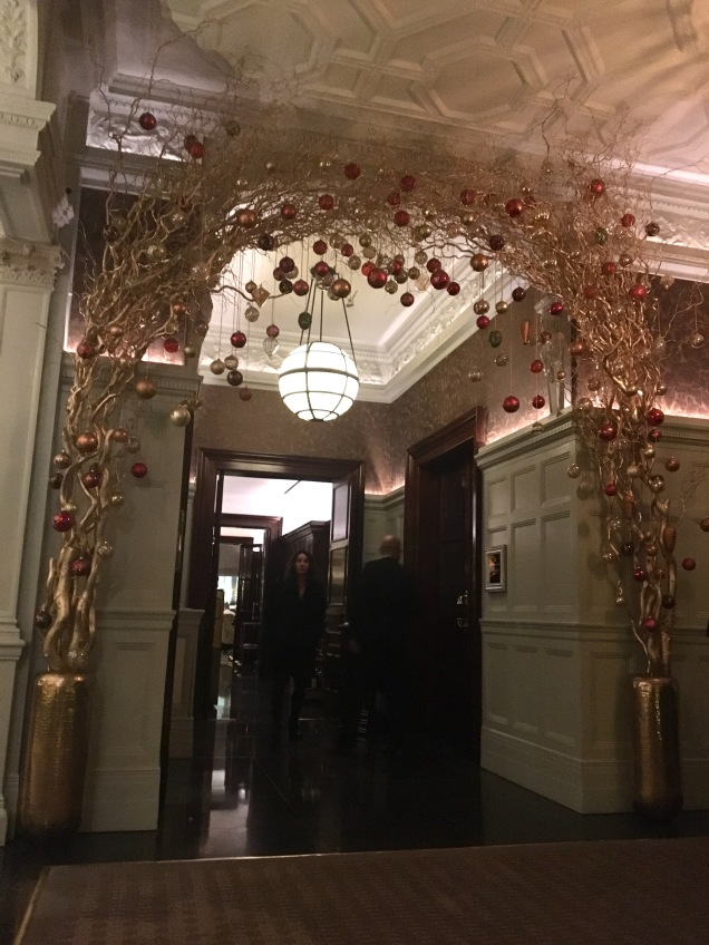 The Connaught Christmas decoration London