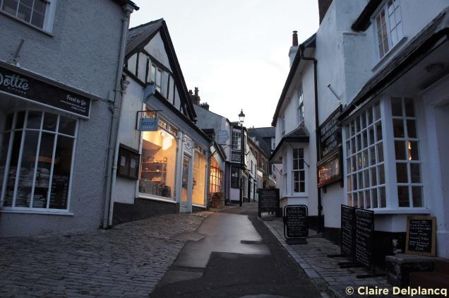 Lyme Regis street