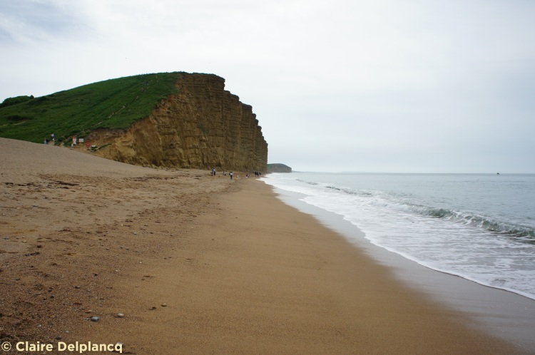 West Bay cliff