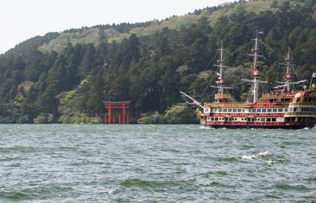 Hakone Pirate Boat