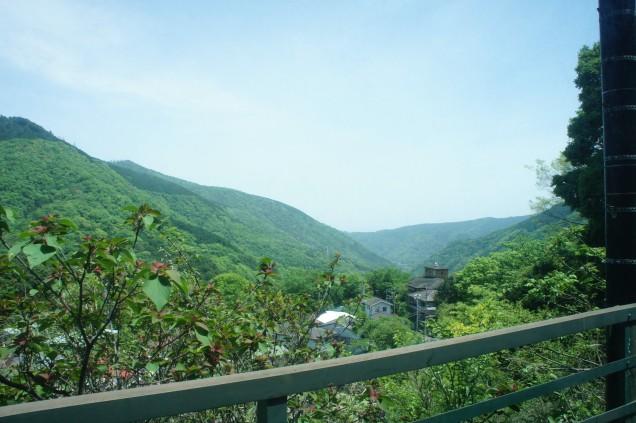 Train to Hakone view