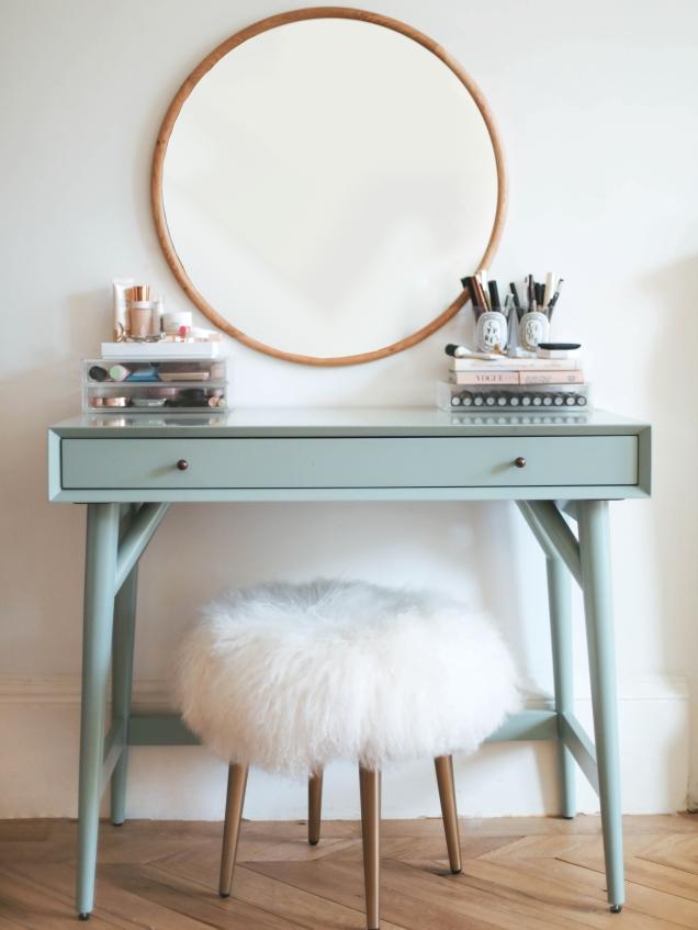Dressing table designed by Kate La Vie