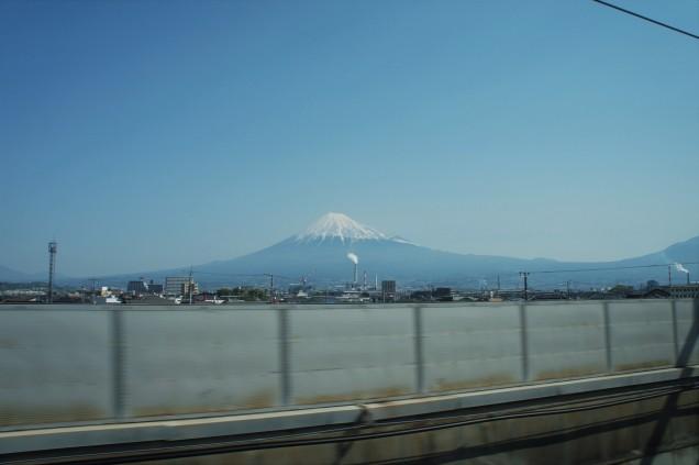 Mount Fuji from Shinkansen