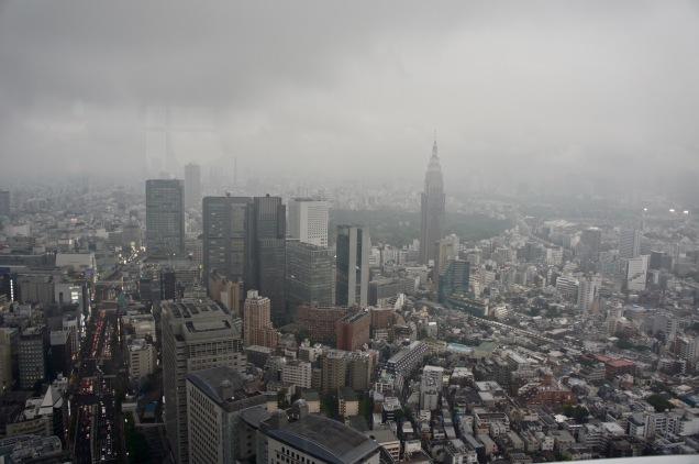 New York Bar view Tokyo