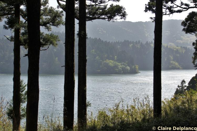 Onshihakone park lake