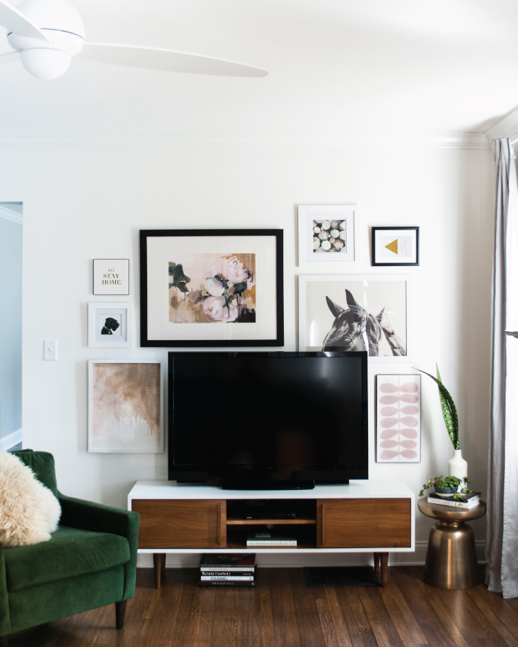 TV wall inspiration