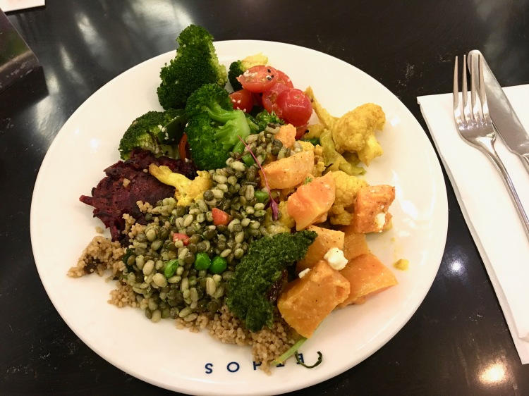 Ethos London Lunch plate