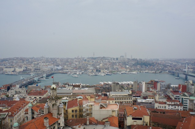 View from Galata Tower in Istanbul