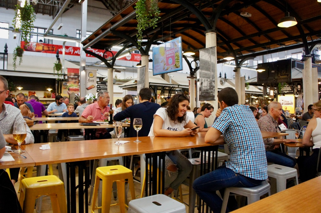 spots to visit in lisbon, portugal: Mercado de Campo de Ourique