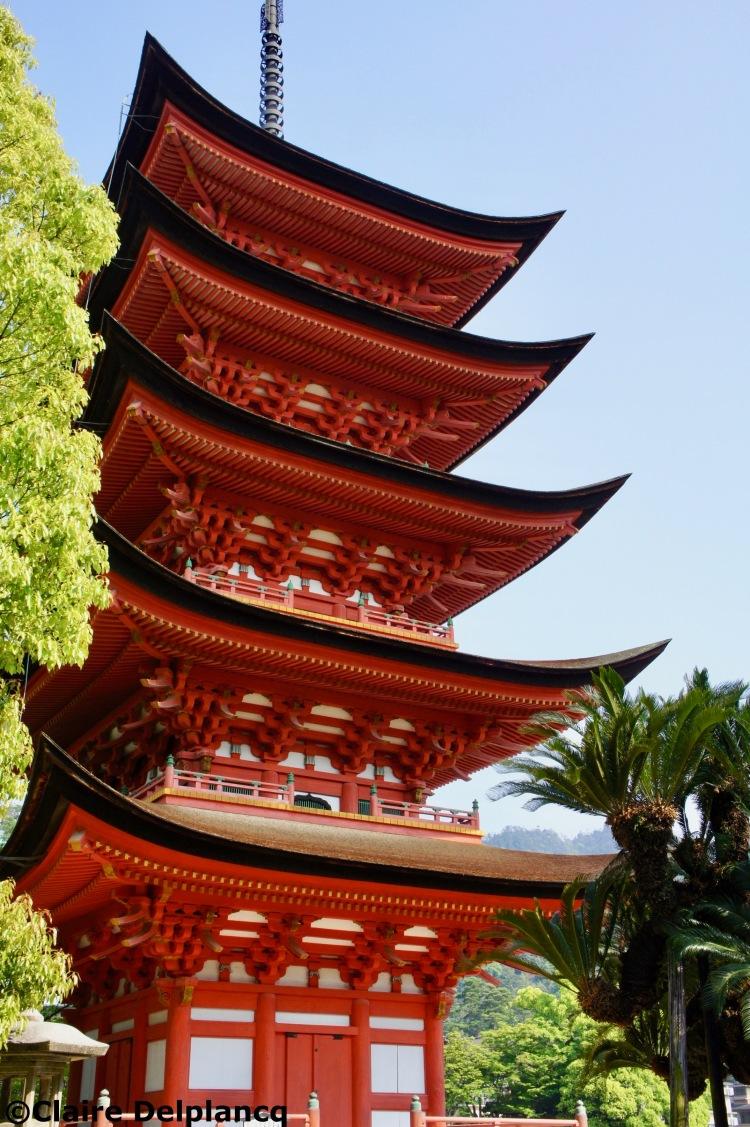 Pagoda in Miyajima island