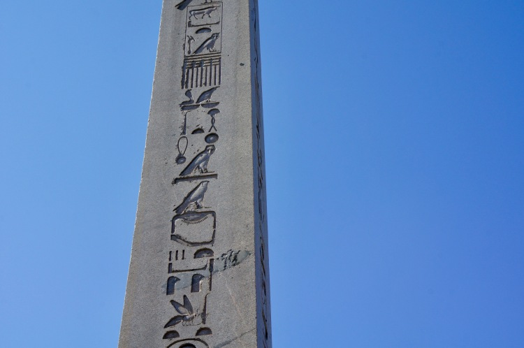 The Obelisk of Theodosius in Istanbul
