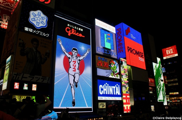 Glico man in Osaka