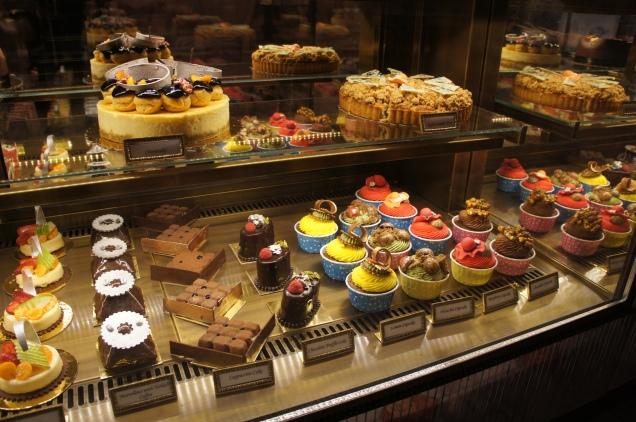 Pera Palace Hotel cakes