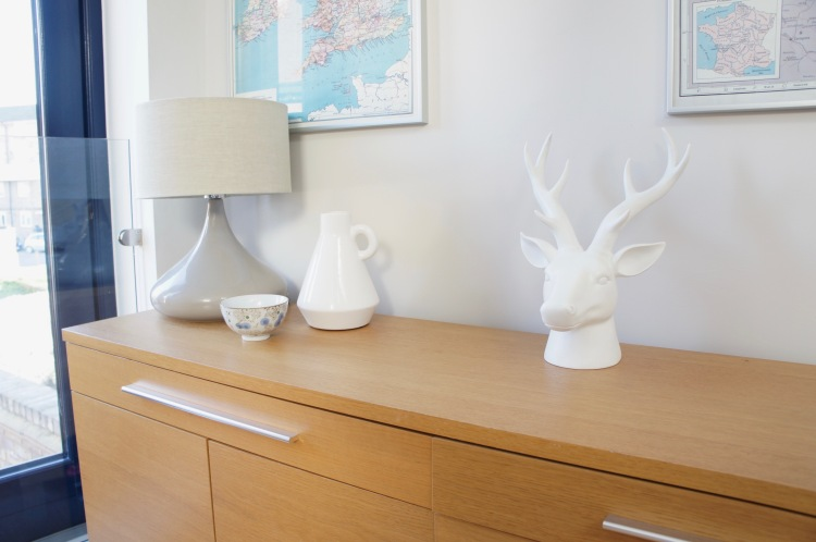 Debenhams white stag head