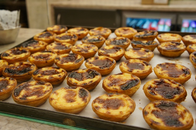 Pasteis de nataManteigaria Time Out Market Lisbon