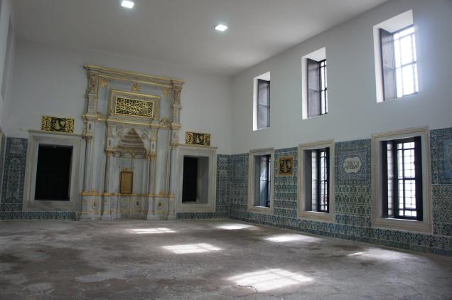 Harem in Topkapi Palace in Istanbul