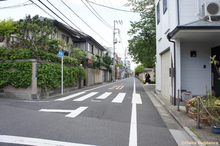 Ueno street in Tokyo
