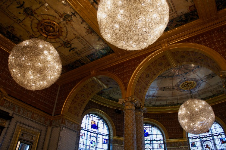 The Victoria and Albert Museum cafe