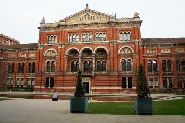 The Victoria and Albert Museum garden