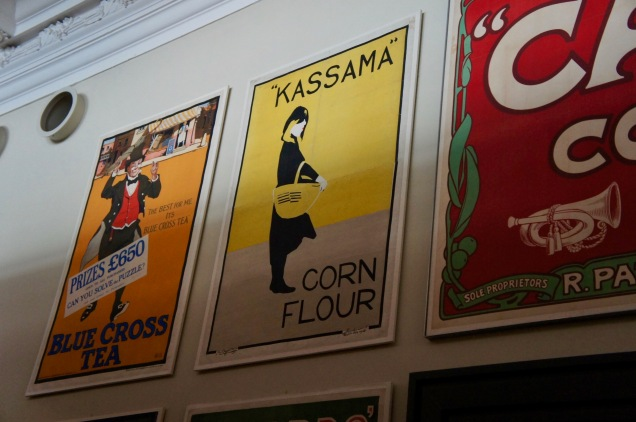 Vintage posters at the Victoria and Albert Museum