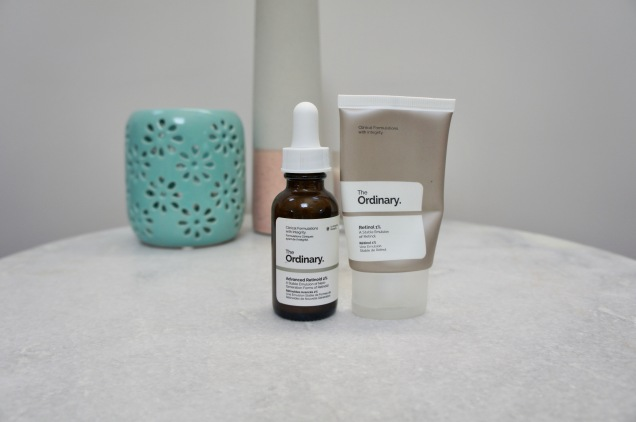 The Ordinary Retinol 1% and Granactive Retinoid 2%