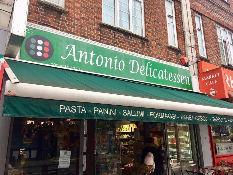 Antonio Delicatessen Lewisham London